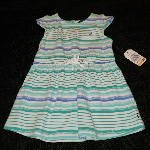 Nautica Other - NWT Cute 2pc Nautica Dress for Baby Girl